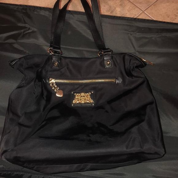 Black Juicy Couture Gym Bag